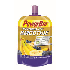 Энергетический гель PowerBar Performance Smoothie, банан-черника 90г