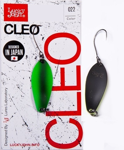 Блесна LUCKY JOHN Cleo 2,5 г, цвет 022, арт. LJCL25-022