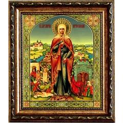 Марина (Маргарита) Антиохийская  Святая великомученица. Икона на холсте.