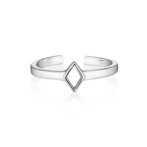 Миди-кольцо RHOMBI