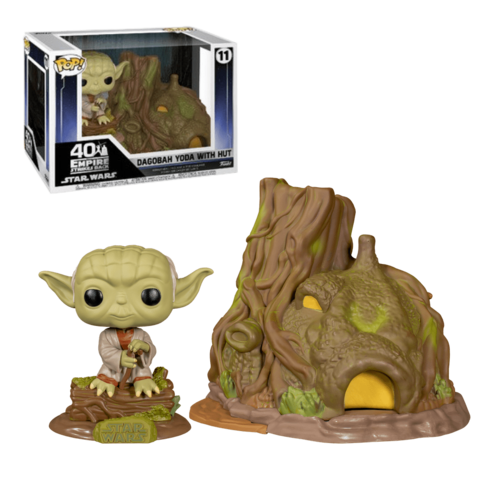 Dagobah Yoda with Hut Funko Pop! || Хижина Йоды на Дагобе