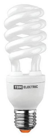 Лампа энергосберегающая КЛЛ-HS-20 Вт-4200 К–Е27 TDM