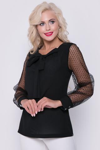 Идеальный соблазнительный вариант на любое торжество. Легкая, воздушная блузка станет незаменимой в Вашем гардеробе. Длина блузки: 44-52р - 63-64см