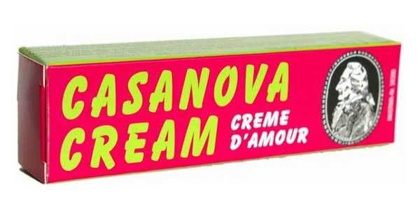 Возбуждающие: Крем-стимулятор Casanova - 13 мл.
