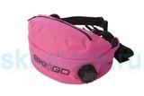 Подсумок с термосом SkiGo Drinkbelt 1,1liter розовый