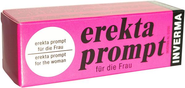 Возбуждающие: Возбуждающий женский крем Erekta Prompt - 13 мл.