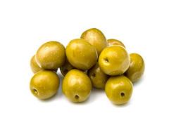 Оливки Чериньола зелёные с косточкой Romeo Rossi, 290г