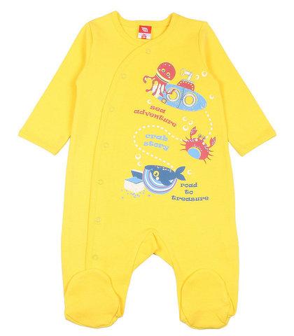 Cherubino Комбинезон для новорожденного CSN9698 (172) желтый