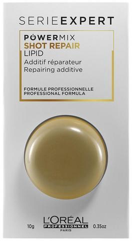 Концентрат для восстановления волос Shot,Loreal Absolut Repair Lipidium,10 мл.