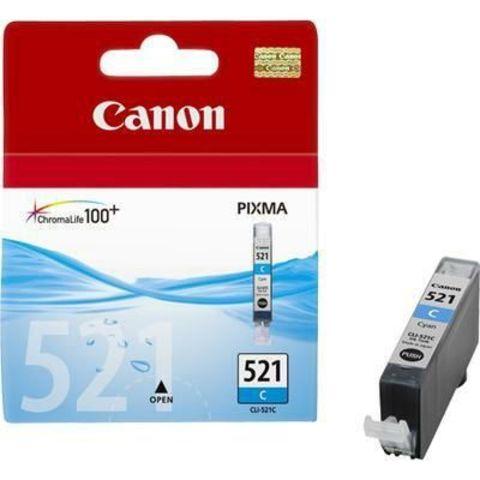 Картридж струйный Canon CLI-521C cyan - голубая чернильница 2934b004