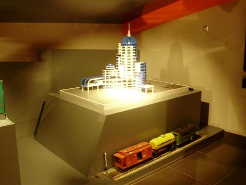 Макет здания железнодорожного вокзала г. Самара
