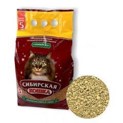 Наполнитель для кошек, Сибирская Кошка, Универсал 5л