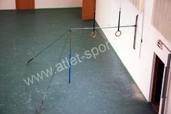 Перекладина гимнастическая ATLET-M пристеночная на растяжках