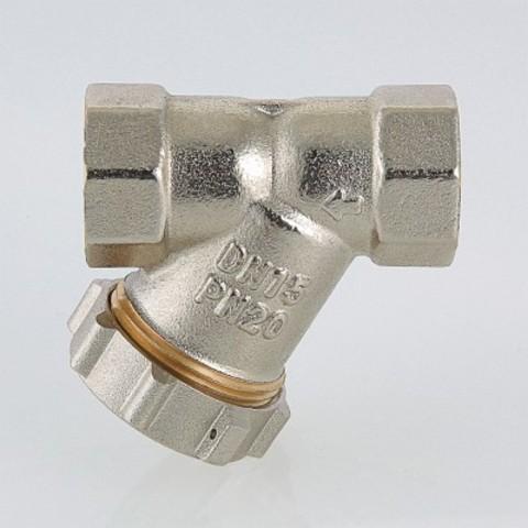 Фильтр механической очистки косой c заглушкой