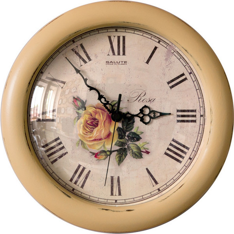 Настенные часы Салют- ДС - 3ББ2 - 142 ШЕББИ ШИК 12
