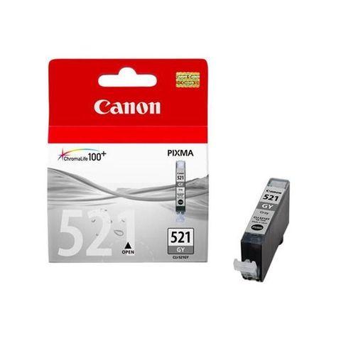 Картридж струйный Canon CLI-521GY grey - серая чернильница (2937B004)
