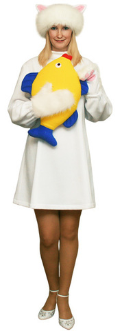 костюм Белой Кошки