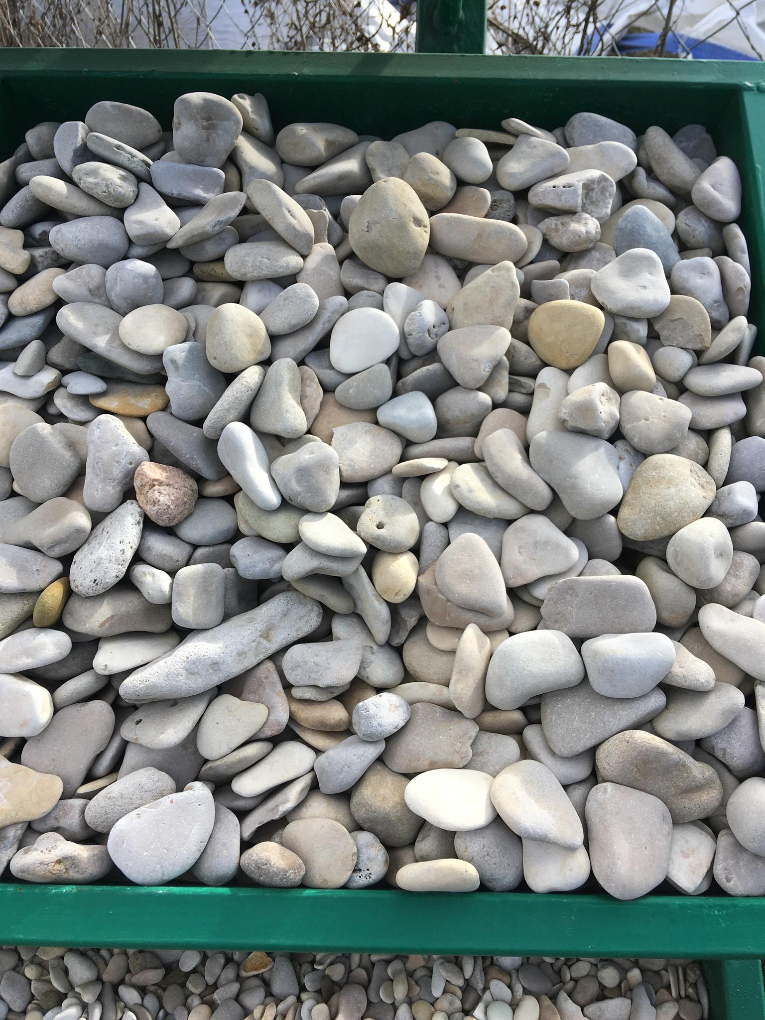 Галька камень морской Каспийский