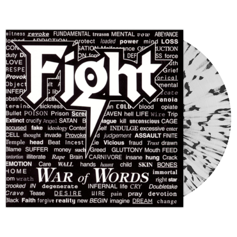 Fight ‎/ War Of Words (Coloured Vinyl)(LP)