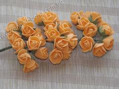 Букет из латексных розочек оранжевый