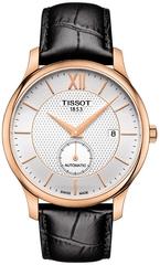 Мужские швейцарские часы Tissot Tradition Automatic Small Second T063.428.36.038.00