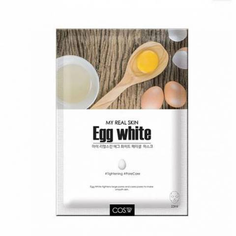 Тканевая маска My Real Skin Egg White Facial Mask от COS.W