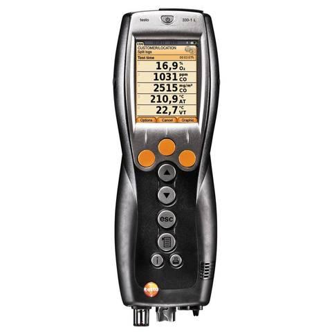 Портативный газоанализатор Testo 330-2 LL c цветным дисплеем, Описание Testo 330-2 LL  BT+мультиметр Testo 760-2 (арт: 0563 3376)