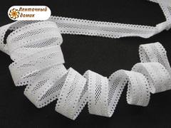 Резинка ажурная для повязок белая ширина 16 мм