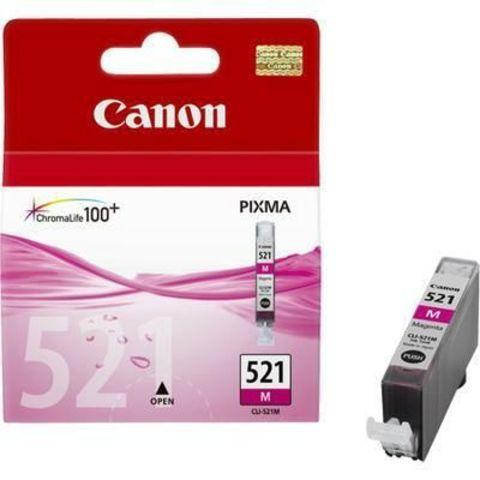 Картридж струйный Canon CLI-521M magenta - розовая чернильница 2935b004