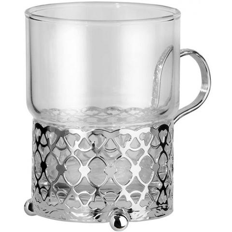 Набор из стакана с подстаканником 7х9см