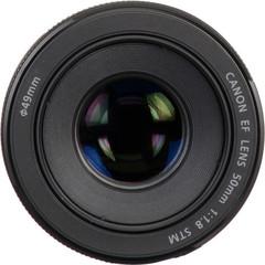 Объектив Canon EF 50mm f/1.8 STM Black для Canon