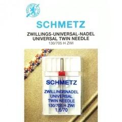 Фото: Игла Twin universal 130/705 H ZWI SCS №1-1,6/70