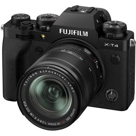 Цифровой беззеркальный фотоаппарат FUJIFILM X-T4 Kit 18-55mm