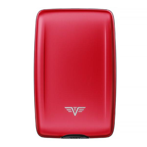 Кошелек c защитой Tru Virtu OYSTER 2, цвет красный, 110*69*28 мм