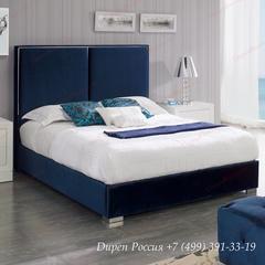 Кровать Dupen (Дюпен) 889 ANDREA синяя