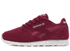 Кроссовки Женские Reebok Classic Leather Double Cherry
