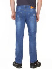072 джинсы мужские синие