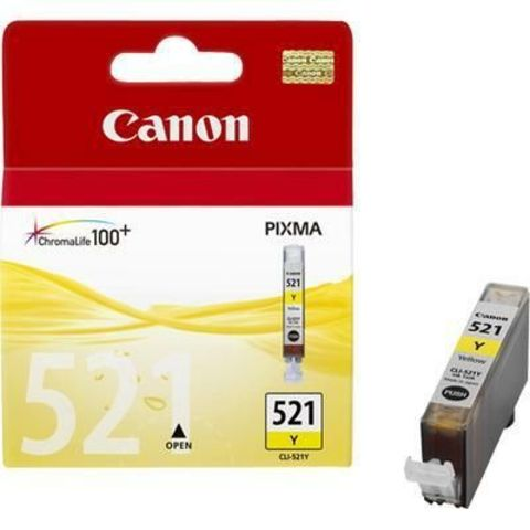 Картридж струйный Canon CLI-521Y yellow - желтая чернильница 2936b004