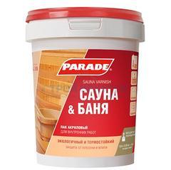 Лак для саун PARADE L30 акриловый, 2,5л