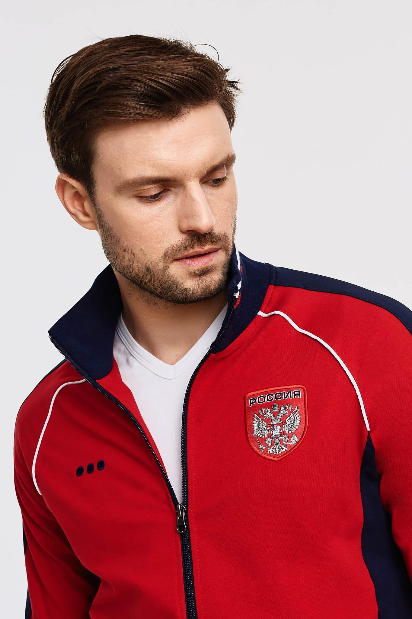 Спортивный костюм Россия хлопок