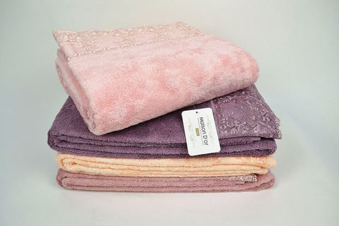 JULIA BAMBU  ДЖУЛИЯ БАМБУ полотенце махровое Maison Dor Турция