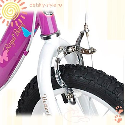 "Велосипед Royal Baby ""Butterfly Steel 12"" (Роял Беби)"