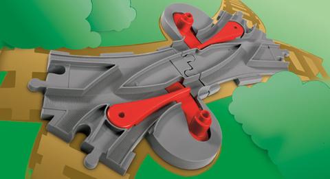 LEGO Duplo: Железнодорожные стрелки 3775 — Switching Tracks