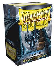 Dragon Shield - Черные протекторы 100 штук