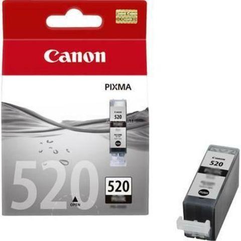 Картридж струйный Canon PGI-520Bk black pigment - черная пигментная чернильница 2932B012