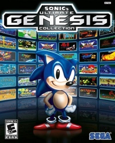 Sony PS3 Sonic Ultimate Genesis Collection (английская версия)