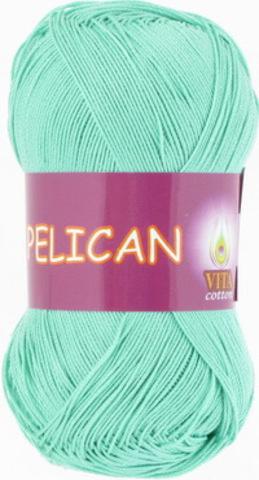 Пряжа Pelican (Vita cotton) 3970 Морская волна