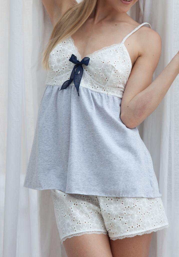 Женская пижама с шортами Rebecca & Bros