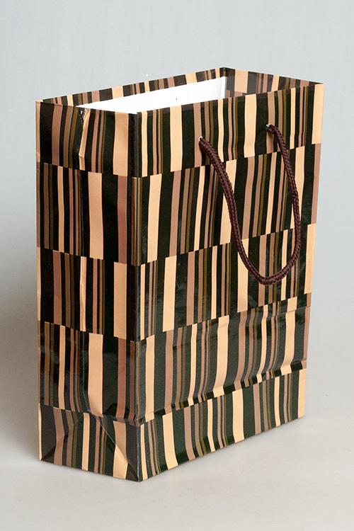 Бумажный пакет с веревочными ручками 814085