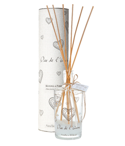 Диффузор-ароматизатор для дома с палочками в подарочной упаковке Только любовь, Amelie et Melanie